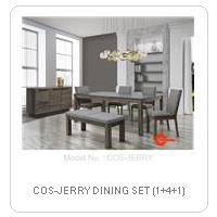 COS-JERRY DINING SET (1+4+1)
